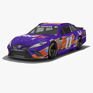 Joe Gibbs Racing Denny Hamlin NASCAR Season 2017 3D model