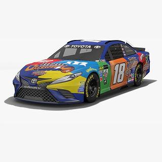Joe Gibbs Racing Kyle Busch NASCAR Season 2017 3D model