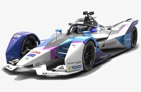 Andretti Motorsport Formula E Season 2019 2020 Low-poly PBR 3D model