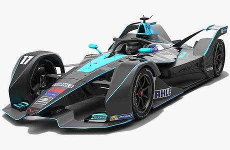 HWA Racelab Formula E Season 2018 2019 3D mode