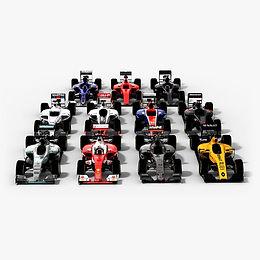 Formula 1 2016 3D model