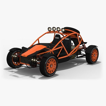 Buggy Ariel Nomad Low-poly 3D model
