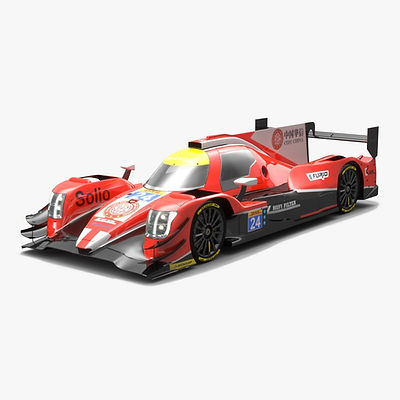 CEFC Manor TRS Racing LMP2 WEC Season 2017 3D model