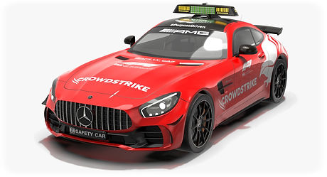 Mercedes AMG GTR Season 2021 FIA F1 Safety Car Low-poly PBR  3D model