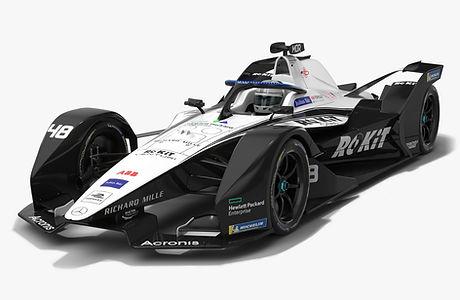 Rokit Venturi Formula E Season 2020 2021 Race Car Low-poly PBR 3D model