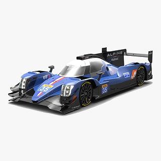 Signatech Alpine Matmut LMP2 WEC Season 2017 3D model
