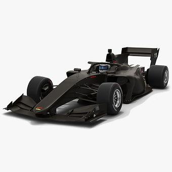 Dallara SF19 Super Formula Season 2019 Low-poly 3D model