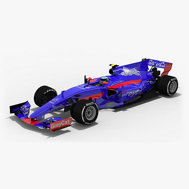 Toro Rosso STR12 Formula 1 Season 2017 3D model