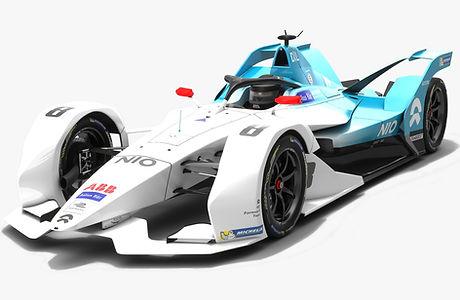 NIO Formula E Team Season 2018 2019 3D model