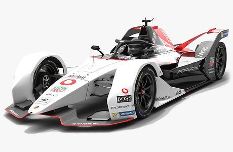 Porsche Formula E Team Pre Season Livery 2019 2020 Low-poly PBR 3D model