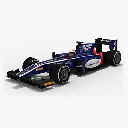 Russian Time Formula 2 Season 2017 3D model
