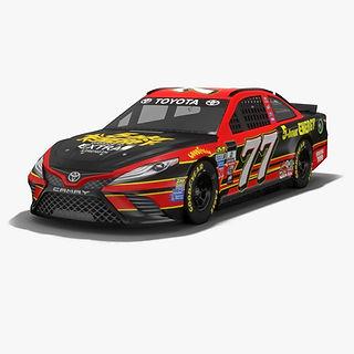 Furniture Row Racing Erik Jones NASCAR Season 2017 3D model
