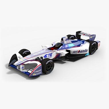 MS Amlin Andretti Formula E Season 2016 2017 3D model