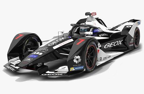 GEOX Dragon Formula E Season 2019 2020 Low-poly PBR 3D model