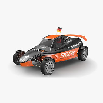 Race of Champions (ROC) Buggy Low-poly PBR 3D model
