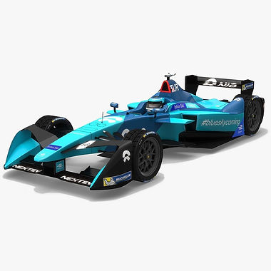 NextEV NIO Sport 003 Formula E Season 2017 2018 3D model