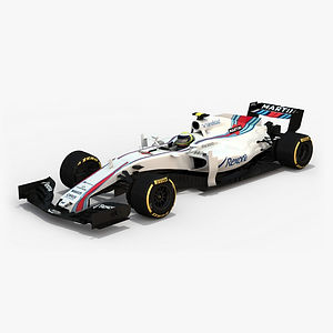 ​Williams Martini Racing FW40 Season 2017 3D model