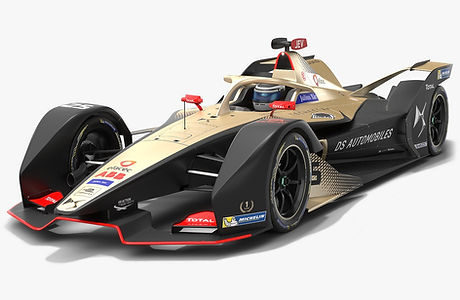 DS Techeetah Formula E Season 2019 2020 Low-poly PBR 3D model