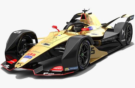 DS Techeetah Formula E Season 2018 2019 3D model