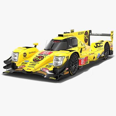 JDC Miller MotorSports Oreca 07 IMSA Season 2018 3D model