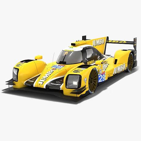 Racing Team Nederland Dallara P217 LMP2 WEC Season 2018 2019 3D model