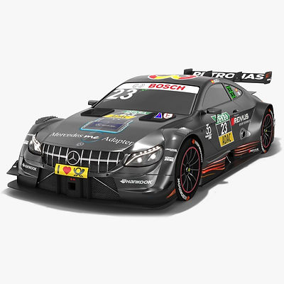 Mercedes-AMG C63 DTM #23 Daniel Juncadella Season 2018 3D model