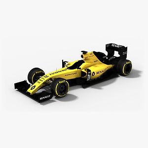 Renault Sport F1 Team R.S.16 Season 2016 3D model