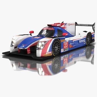 Ligier JS P217 IMSA Season 2018 3D model
