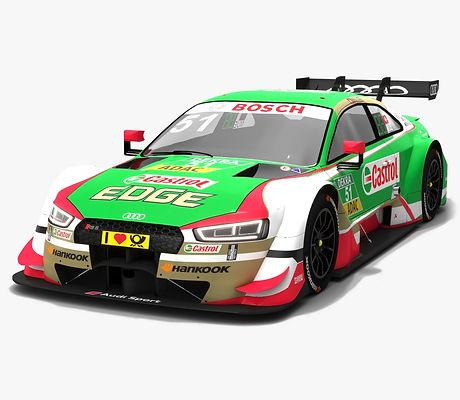 Audi RS5 DTM #51 Nico Muller Season 2018 3D model