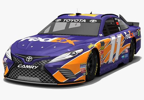 Joe Gibbs Racing #11 NASCAR Season 2018 3D model