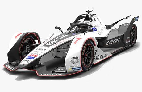 Geox Dragon Racing Formula E Season 2018 2019 3D model
