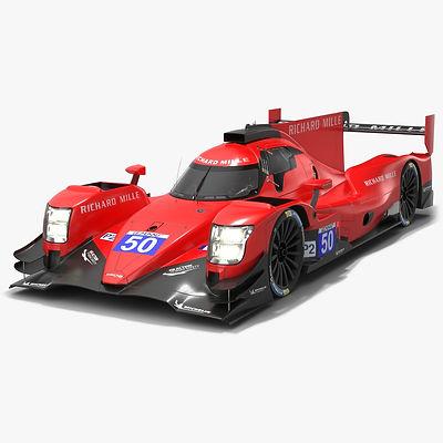 Richard Mille Racing Team ELMS LMP2 Season 2020 Low-poly PBR 3D model