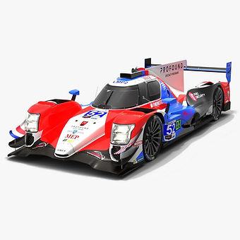 PR1/Mathiasen Motorsports #52 Oreca 07 IMSA Season 2019 3D model