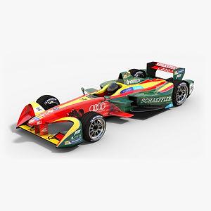 ABT Schaeffler Audi Sport Formula E 2016 2017 3D model