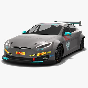 Tesla Model S P100D Electric Production Car Series Season 2018 2019 3D model