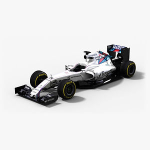 Williams Martini Racing FW38 Season 2016 3D model