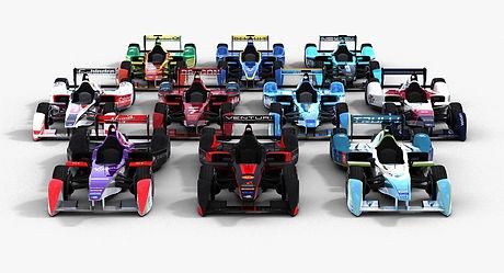 Formula E Season 2015 2016 3D model
