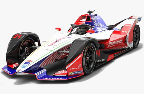 Mahindra Racing Formula E Team Season 2018 2019 3D model