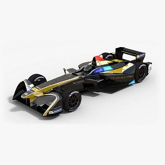 Techeetah Formula E Season 2016 2017 3D model