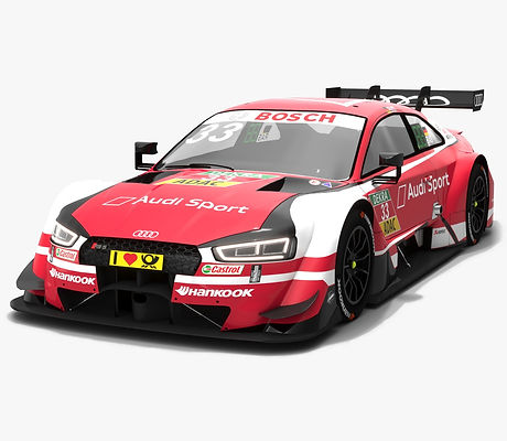Audi RS5 DTM #33 Rene Rast Season 2018 3D model