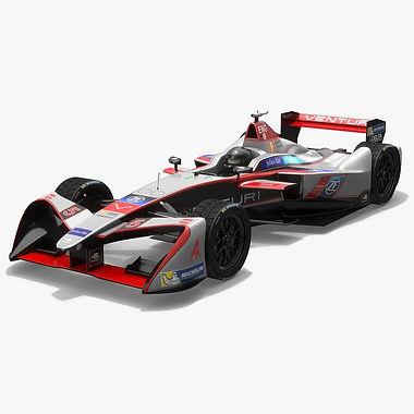 Venturi Racing Formula E Season 2017 2018 3D model