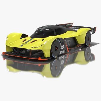Aston Martin Valkyrie AMR Pro 3D model