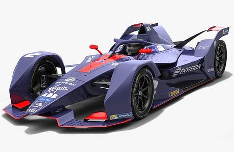 Envision Virgin Racing Formula E Season 2018 2019 3D model