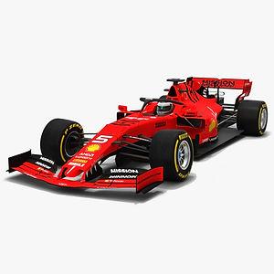 Scuderia Horsari F1 SF90 Formula 1 Season 2019 3D model