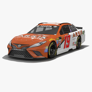 Joe Gibbs Racing Daniel Suarez NASCAR Season 2017 3D model