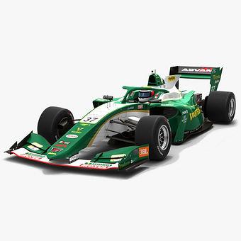 Vantelin Team TOM'S #37 Super Formula Season 2019 Low-poly 3D model
