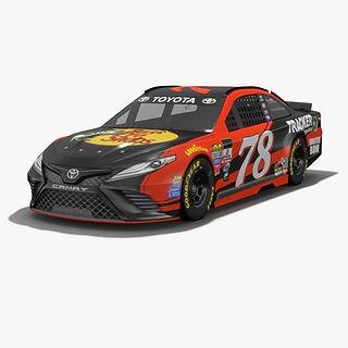 Furniture Row Racing Martin Truex Jr NASCAR Season 2017 3D model