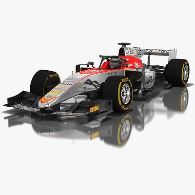 Campos Vexatec Racing Formula 2 Season 2018 3D model