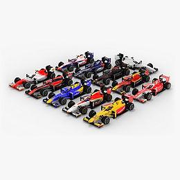 Formula 2 Season 2017 3D models