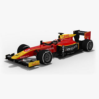 Racing Engineering Formula 2 Season 2017 3D model